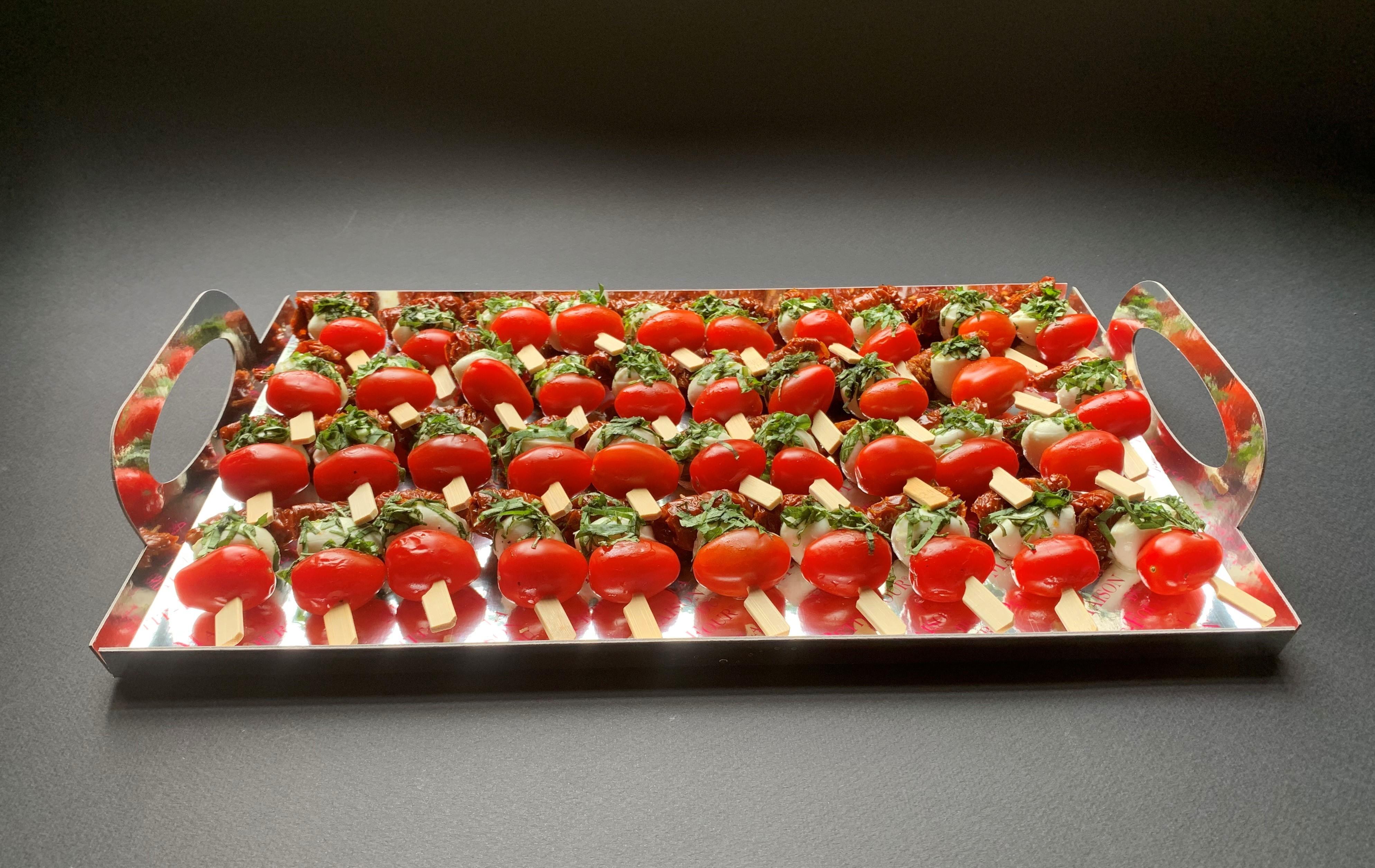 Banderillas aux 2 Tomates et Basilic